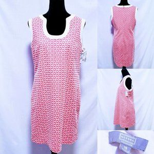 Merona Dresses - 💕Merona Collection Eyelet shift dress size 16💕